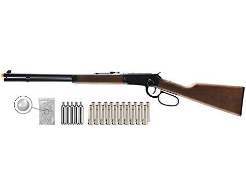 Wearable4U  1 Umarex Limited Edition - Legends Saddle Gun- Lever Action 6mm BB Airsoft Gun with Wearable4U Bundle