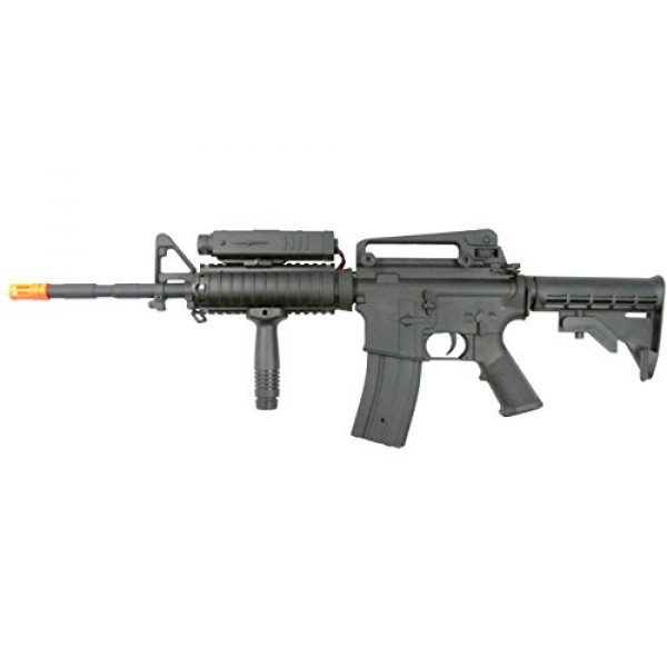 P-Force Airsoft Rifle 1 p-force 032 m4ris full metal electric w/battery & charger (metal gb)(Airsoft Gun)