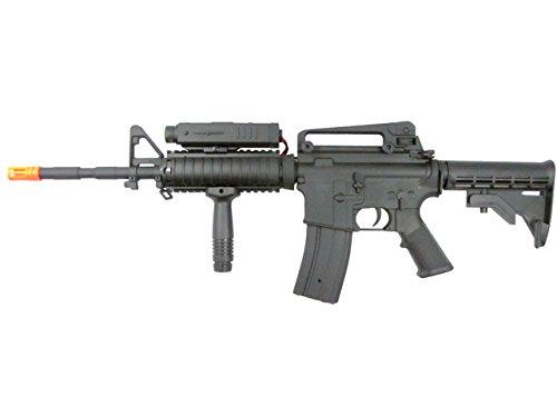 P-Force  1 p-force 032 m4ris full metal electric w/battery & charger (metal gb)(Airsoft Gun)