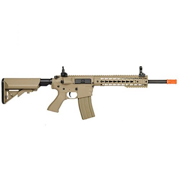 Lancer Tactical Airsoft Rifle 4 Lancer Tactical LT-12TK M4 Key Mod 10 inch AEG Metal Gear Metal Gear Airsoft Rifle Gun