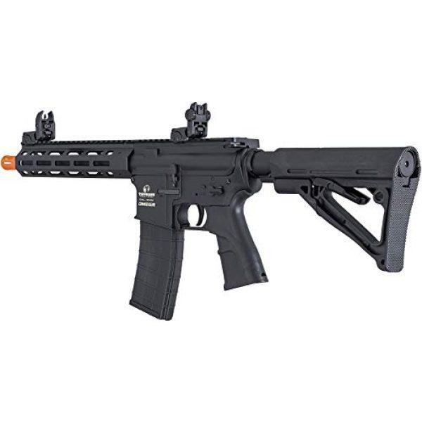 Tippmann Airsoft Airsoft Rifle 5 Tippmann Omega CQB - 12-Gram Airsoft Rifle - Black