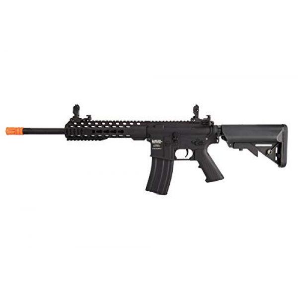 "Lancer Tactical Airsoft Rifle 1 Lancer Tactical LT-19BL-G2-M Gen 2 Airsoft M4 Carbine 10"" AEG Rifle Black"