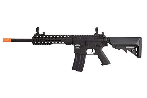 "Lancer Tactical  1 Lancer Tactical LT-19BL-G2-M Gen 2 Airsoft M4 Carbine 10"" AEG Rifle Black"