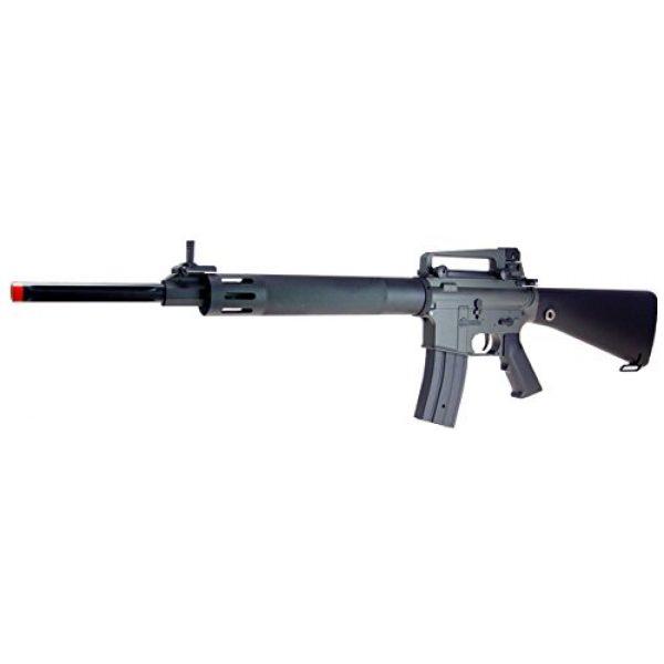 Jing Gong (JG) Airsoft Rifle 2 JG AEG-M16UHC Semi/Full Auto Nicads/Charger Incl.-Metal G-Box