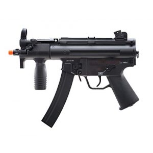 Elite Force Airsoft Rifle 1 Elite Force HK Heckler & Koch MP5 AEG Automatic 6mm BB Rifle Airsoft Gun, MP5K, Multi (2275055), One Size