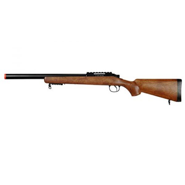 Well Airsoft Rifle 1 Well MB02 Airsoft Sniper Rifle - Wood