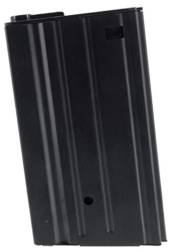 SportPro  1 SportPro 420 Round Metal High Capacity Magazine for AEG SR25 Airsoft - Black
