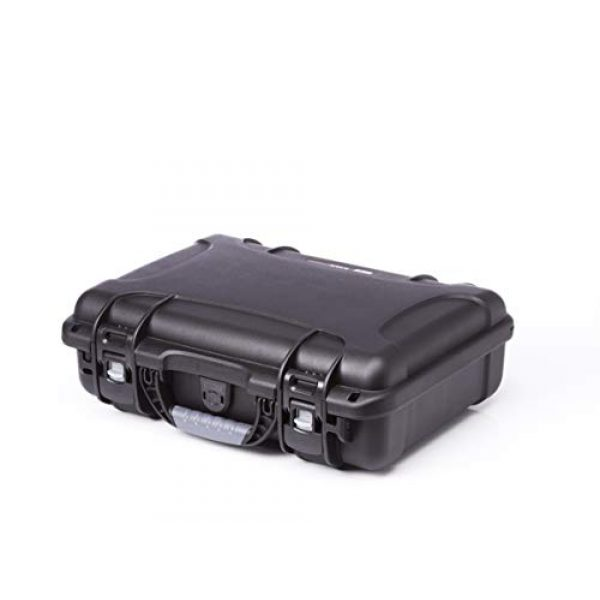 Levy's Outdoor Pistol Case 3 Levy's Outdoor Universal Waterproof and Dustproof Single Pistol Hard Case; Adjustable Foam Interior (GU-1309-03-UNV-GUN)