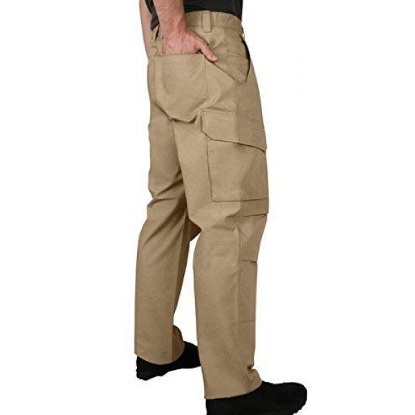 LA Police Gear Tactical Pant 2 Men's Urban Ops Tactical Cargo Pants - Elastic WB - YKK Zipper