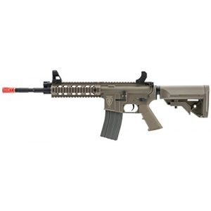 Umarex Airsoft Rifle 1 Elite Force M4 AEG Automatic 6mm BB Rifle Airsoft Gun, CFR, FDE