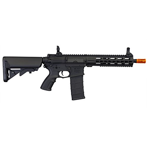 Tippmann Airsoft  4 Tippmann Tactical Commando AEG CQB 10.5in Airsoft Rifle Black