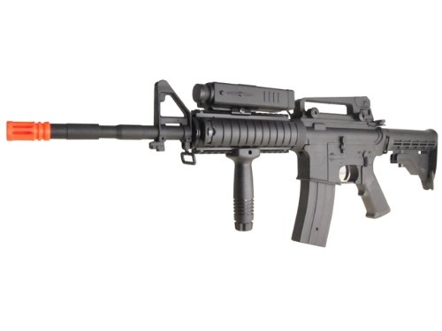 P-Force  2 PForce M4 Full Metal Semi and Full Auto Electric AEG Airsoft Rifle