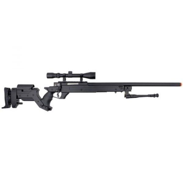 Well Airsoft Rifle 1 Well awn aps2 spring sniper airsoft rifle w/ bi-pod & scope(Airsoft Gun)