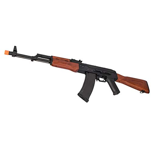 Lancer Tactical  5 Lancer Tactical AK-74N Series AEG Airsoft Rifle Real Wood Furniture