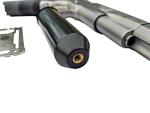 Cedar Mill Fine Firearms Pistol Case 6 Cedar Mill Fine Firearms -Worlds Smallest Micro Pistol Cleaning Kit for Handguns | Free Super-X Tool Bundle with Hard Gun Case Pistol Case (Urban Gray) |TSA Approved with Pick and Pluck Foam (2 items)