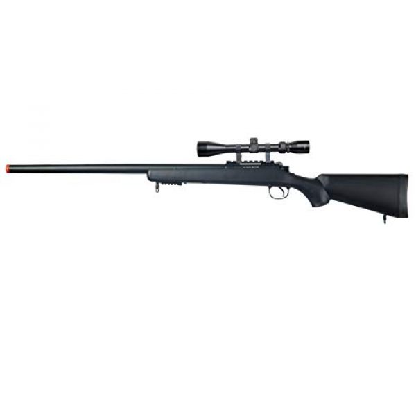 Well Airsoft Rifle 1 Well MB03 Airsoft Sniper Rifle W/Scope - Black