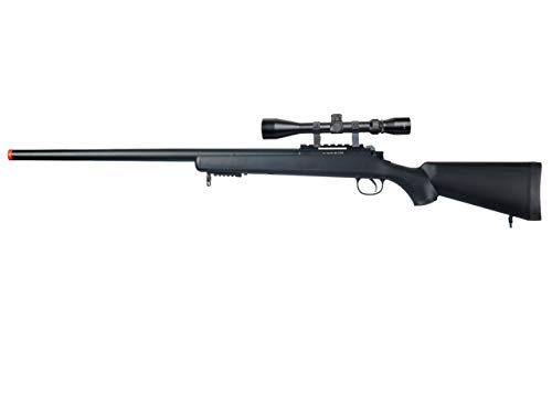 Well  1 Well MB03 Airsoft Sniper Rifle W/Scope - Black