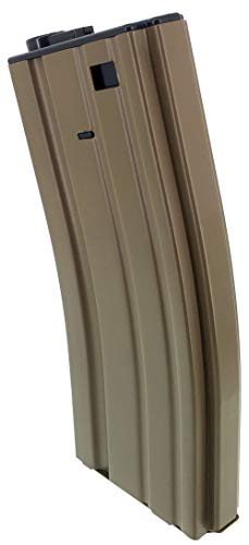 SportPro  4 SportPro 140 Round Metal Medium Capacity Magazine for AEG M4 M16 Airsoft - Dark Earth