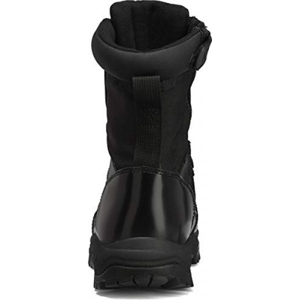 """Belleville Tactical Research TR Combat Boot 5 Belleville Tactical Research TR Men's Class-A TR908Z 8"""" Hot Weather High Shine Side-Zip Boot"""