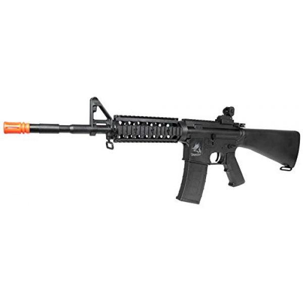 SRC Airsoft Rifle 2 src aeg-the dragon sr16ris nimah/charger included-metal gb(Airsoft Gun)