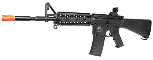 SRC  2 src aeg-the dragon sr16ris nimah/charger included-metal gb(Airsoft Gun)