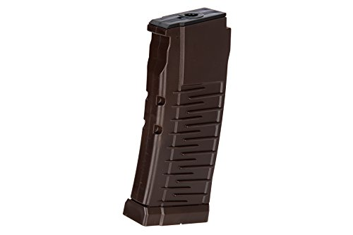 LCT Airsoft  1 LCT Air Soft Airsoft Gameplay BB Airsoft Magazine AS VAL Series AEG 50 Round Standard Capacity - Brown Airsoft Use