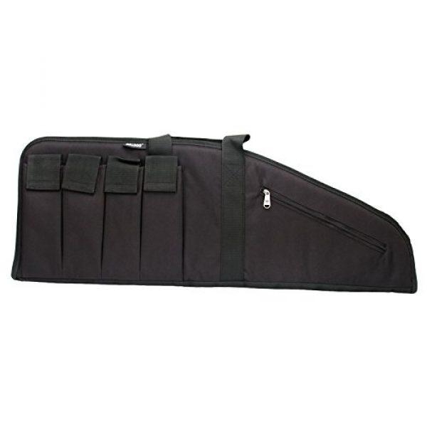 "Bulldog Cases Rifle Case 3 BULLDOG ASSLT RFL MAG BLK/BLK 35"""" - 672352244229 BD422"""