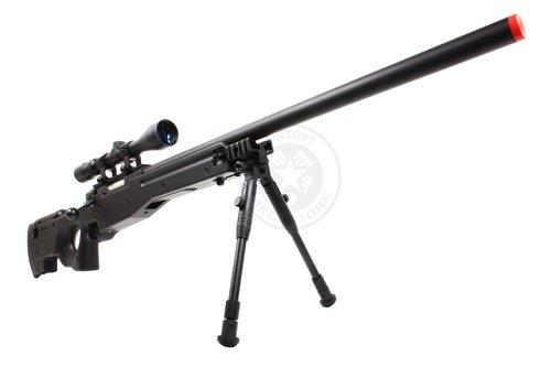 Well  3 Wellfire mk96 bolt action awp sniper rifle w/ 3-9x40 scope and bipod(Airsoft Gun)