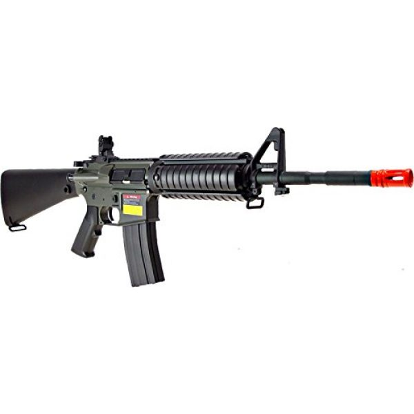 Jing Gong (JG) Airsoft Rifle 3 JG aeg-m4sr16 nicads/charger included-metal gearbox(Airsoft Gun)