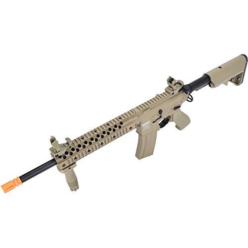 Lancer Tactical  5 Lancer Tactical LT-12 ProLine Series M4 EVO Airsoft AEG Rifle Low FPS TAN