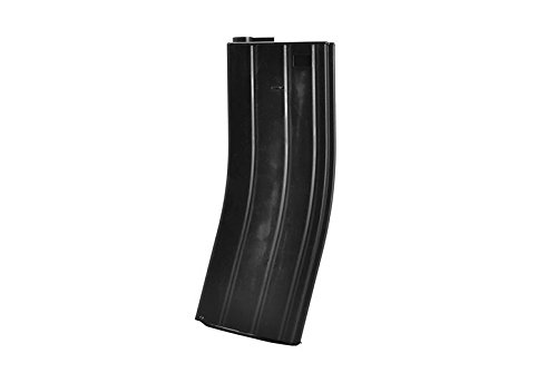 TOMTAC  5 TOMTAC Airsoft M Series Metal Black Flash Magazine MAG 360RDS ASG Pull Cord