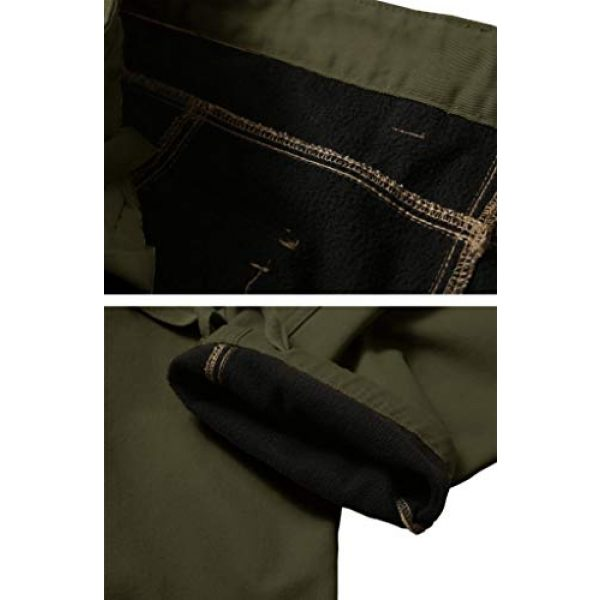 TRGPSG Tactical Pant 5 Men's Cotton Wild Cargo Pants Military Army Camouflage Casual Work Combat Hiking Trousers with 8 Pockets