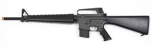 Prima USA  1 jg m16a1 vietnam aeg airsoft rifle with full stock - black(Airsoft Gun)