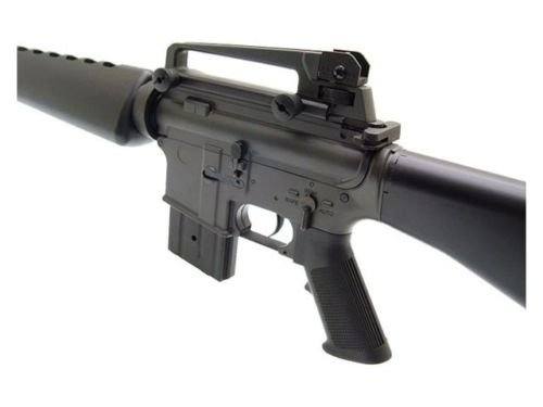 Prima USA  3 jg m16a1 vietnam aeg airsoft rifle with full stock - black(Airsoft Gun)