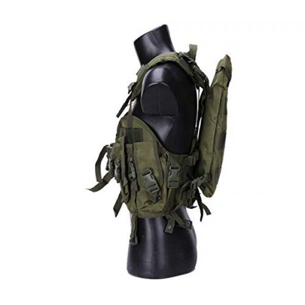 HAOYUN Airsoft Tactical Vest 3 HAOYUN CQB Modular Protective Tactical Vest 97 Seal Water Bag Tactical Vest