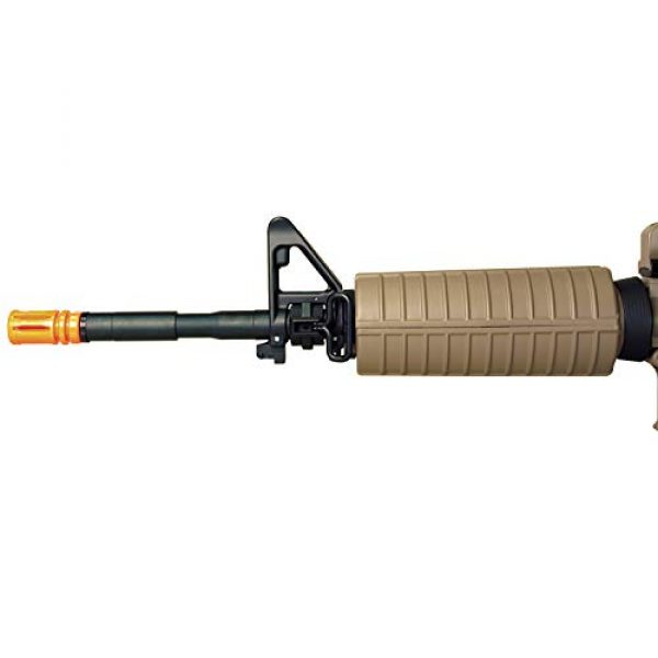 MetalTac Airsoft Rifle 5 MetalTac Electric Airsoft Gun with Metal Gearbox Version 2, Full Auto AEG, Powerful Spring 370 Fps with .20g BBS