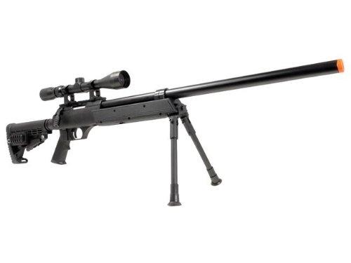 A.S.A.R.  1 well asr heavy single bolt action spring sniper airsoft rifle(Airsoft Gun)