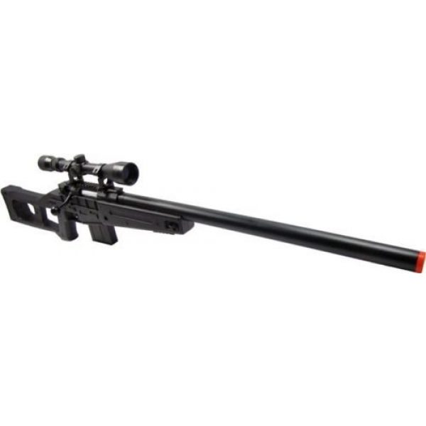 Prima USA Airsoft Rifle 2 well mb4408c bolt action spring airsoft sniper rifle with scope 390 fps(Airsoft Gun)