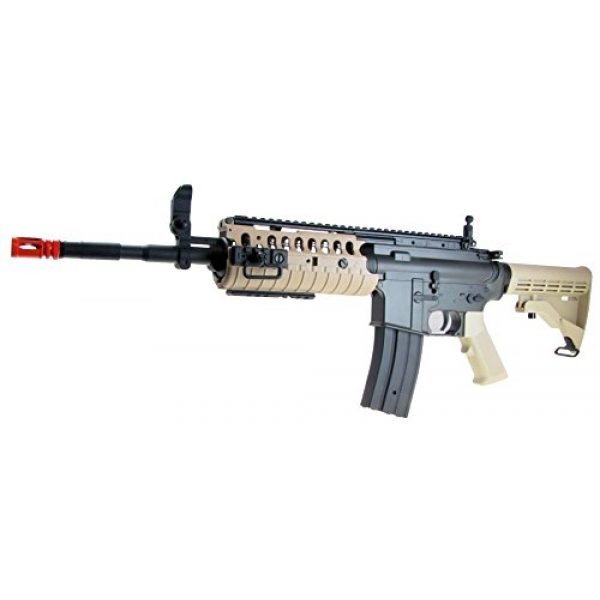 Jing Gong (JG) Airsoft Rifle 2 JG aeg-m4 system nicads/charger included-metal g-bx/camo(Airsoft Gun)