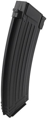 SportPro  4 SportPro 500 Round Metal High Capacity Magazine for AEG AK47 AK74 Airsoft - Black