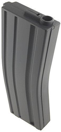 SportPro  2 SportPro 140 Round Metal Medium Capacity Magazine for AEG M4 M16 Airsoft - Gray