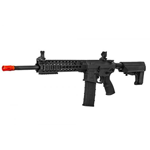 "Lancer Tactical Airsoft Rifle 3 Lancer Tactical M4 Advance Recon Carbine 16"" AEG Airsoft Gun (Black)"