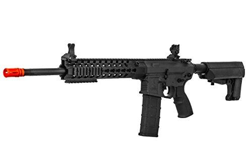 "Lancer Tactical  3 Lancer Tactical M4 Advance Recon Carbine 16"" AEG Airsoft Gun (Black)"