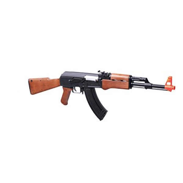 Game Face Airsoft Rifle 1 GameFace 52005 Battlemaster Electric Full/Semi-Auto AK Airsoft Rifle With Sling And Battery Charger