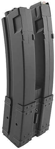 SportPro  4 SportPro 560 Round Polymer Double High Capacity Magazine for AEG MP5 Airsoft - Black