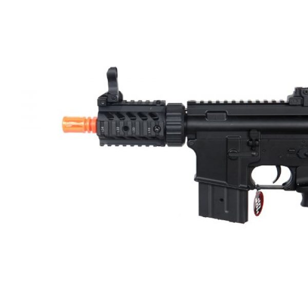 MetalTac Airsoft Rifle 4 MetalTac Electric Airsoft Gun M4 Stubby CQB JG-F6625 with Metal Gearbox Version 2, Full Auto AEG, Upgraded Powerful Spring 380 Fps with .20g BBS