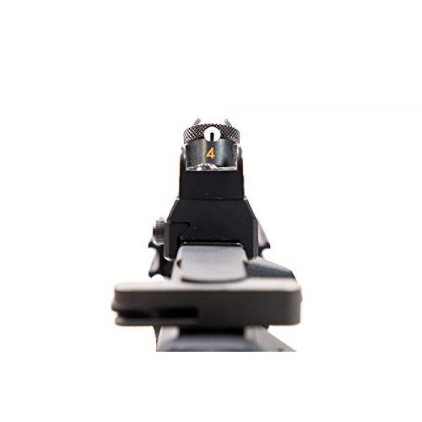 Black Ops Airsoft Rifle 6 Black Ops SR4 CQB AEG Rifle - Electric Fully Automatic Airsoft Gun - .20 .25 BBS