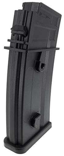 SportPro  5 SportPro Army Force 150 Round Polymer Medium Capacity Magazine for AEG G36 Airsoft - Black