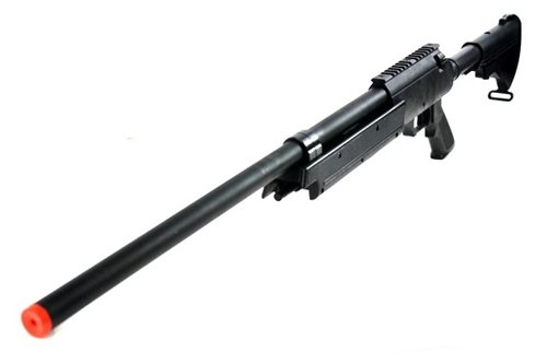 Well  1 470 fps wellfire aps sr-2 modular full metal bolt action sniper rifle mb06a(Airsoft Gun)