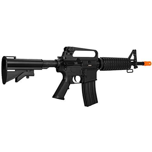 Lancer Tactical  4 Lancer Tactical LT-01C Airsoft M4 Commando AEG Rifle Black